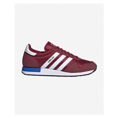 adidas Originals USA 84 Tennisschuhe Rot
