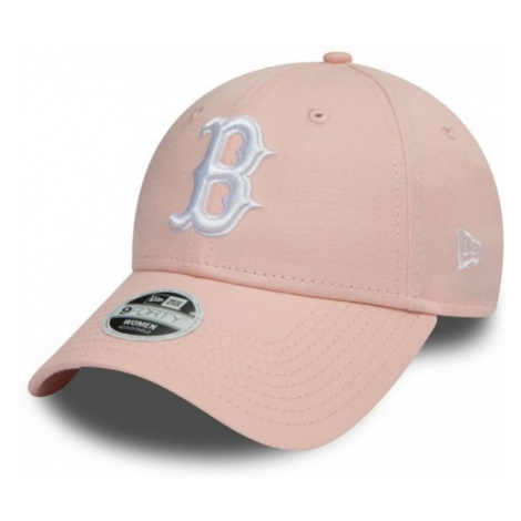 New Era 9FORTY W MLB LEAGUE ESSENTIAL BOSTON RED SOX rosa - Damen Club Cap