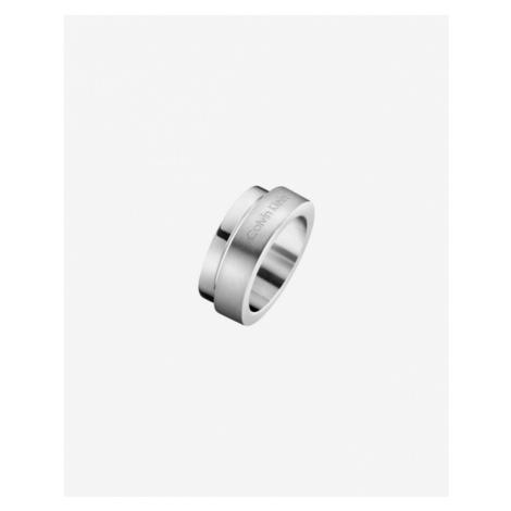 Calvin Klein Loud Rings Silber