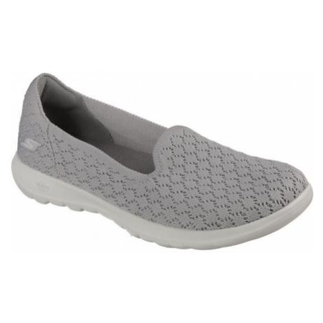 Skechers GO WALK DAISY grau - Damen Slipper