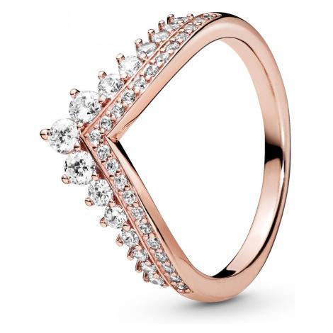 Pandora 187736CZ Rose Damenring Princess Wishbone