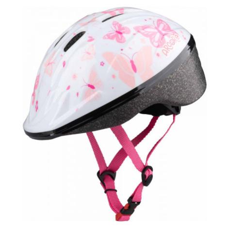 Arcore WAPI weiß - Mädchen Fahrradhelm