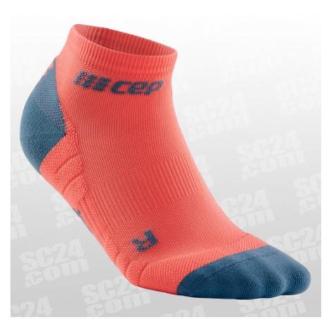 CEP Compression Low Cut Socks 3.0 Women orange/grau Größe 37-40