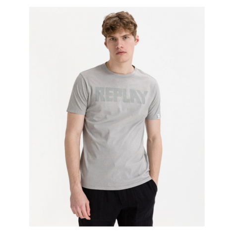 Replay T-Shirt Grau
