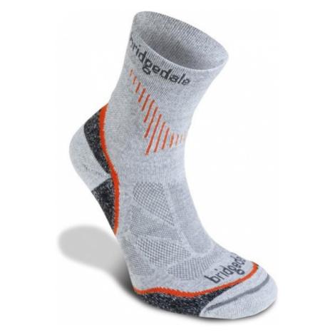Socken Bridgedale CoolFusion Run QW-ik grey/801