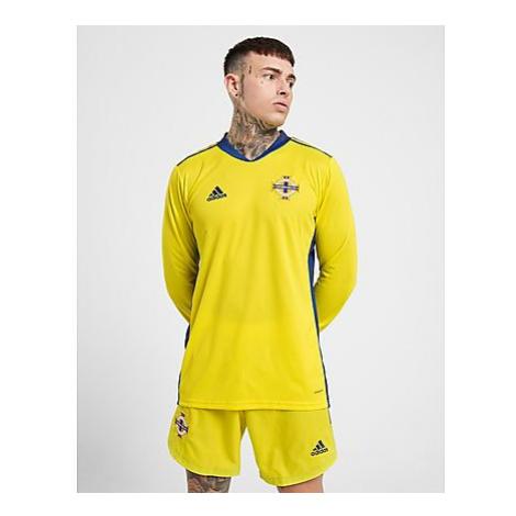 Adidas Nothern Ireland 2020 Home Goal Keeper Shorts Herren - Yellow - Herren, Yellow
