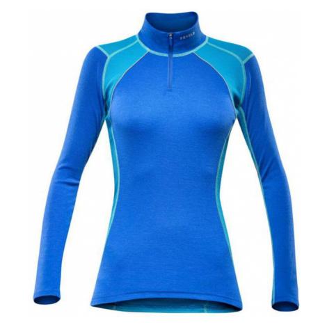 Damen T-Shirt Devold Energy Woman Zip Neck 252-244 277