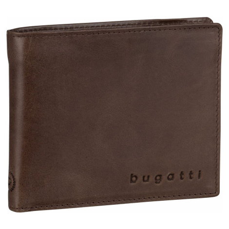 Bugatti Geldbörse Volo Coin Wallet 9 Kartenfächer Braun (0.3 Liter)