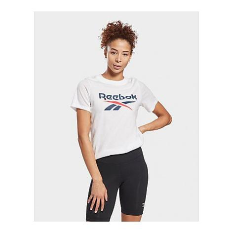 Reebok reebok identity logo t-shirt - White - Damen, White