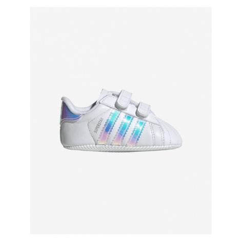adidas Originals Superstar Crib Kinder Tennisschuhe Weiß