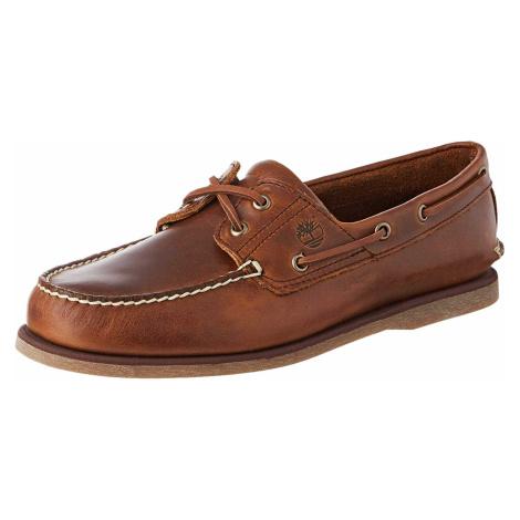 Herren Timberland Mokassin braun Bootsschuh