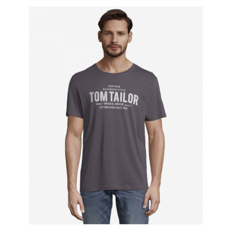 Tom Tailor T-Shirt Grau