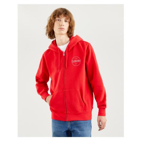 Levi's® Graphic Sweatshirt Rot