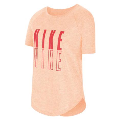 Nike SS TROPHY GFX TOP G orange - Mädchen Shirt