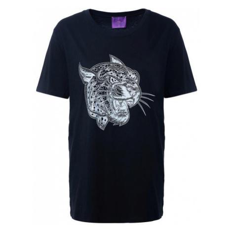 Crazy Leopard Silver-Black T-Shirt
