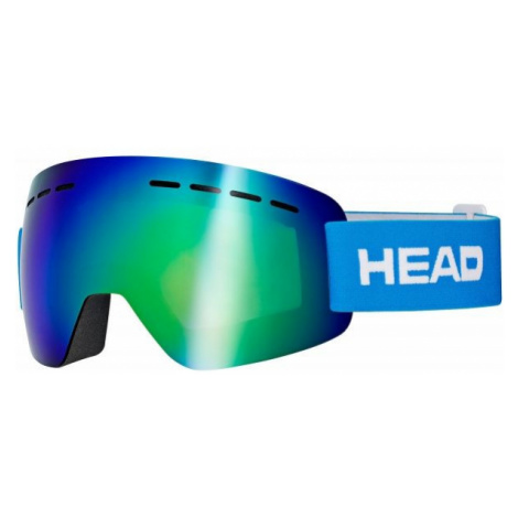 Head SOLAR FMR blau - Skibrille
