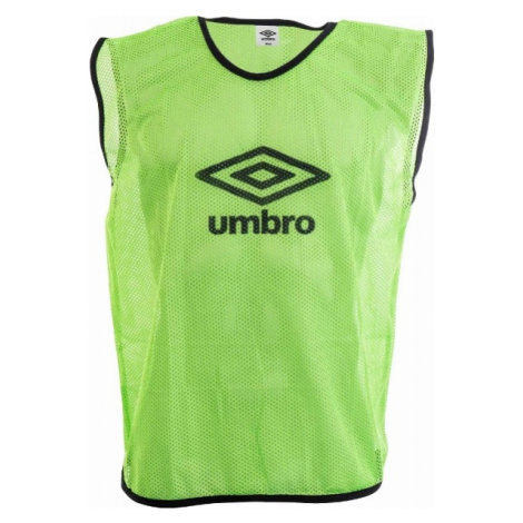Umbro MESH TRAINING BIB - 70X65CM - Senior grün - Trainingsleibchen