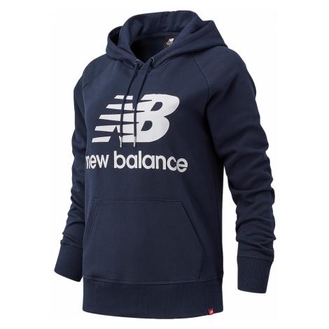 New Balance Damen Hoodie ESSENTIALS PULLOVER HOODIE WT03550 ECL Dunkelblau