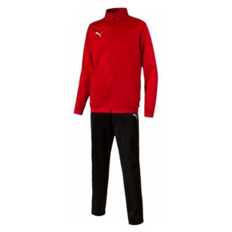 Puma LIGA SIDELINE TRACKSUIT rot - Herren Trainingsanzug