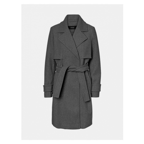 Vero Moda Pockypiper Mantel Grau