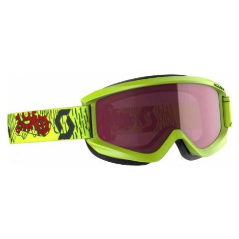 Scott AGENT JR AMPLIFIER gelb - Kinder Skibrille