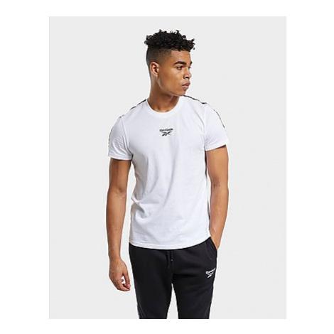 Reebok training essentials tape t-shirt - White - Herren, White