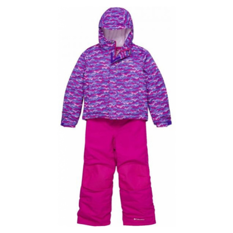 Columbia BUGA SNOW SET rosa - Winterkombination für Kinder