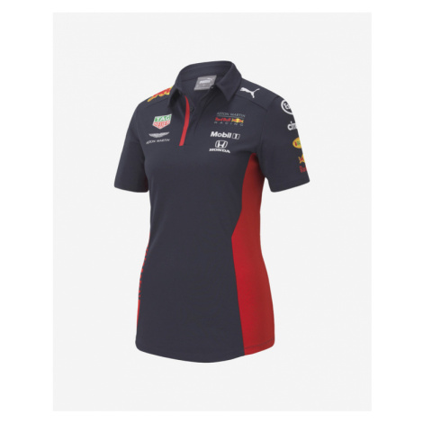 Puma Red Bull Team Polo T-Shirt Blau
