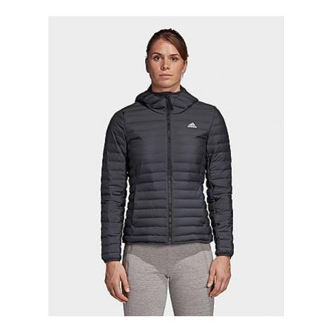 Adidas Varilite Soft Hooded Jacke - Carbon - Damen, Carbon