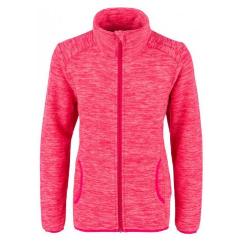 Lewro DIONISIO rosa - Sweatshirt aus Fleece für Kinder