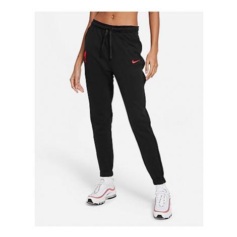 Nike Liverpool FC Track Pants - Black Heather/Black/Laser Crimson - Damen, Black Heather/Black/L