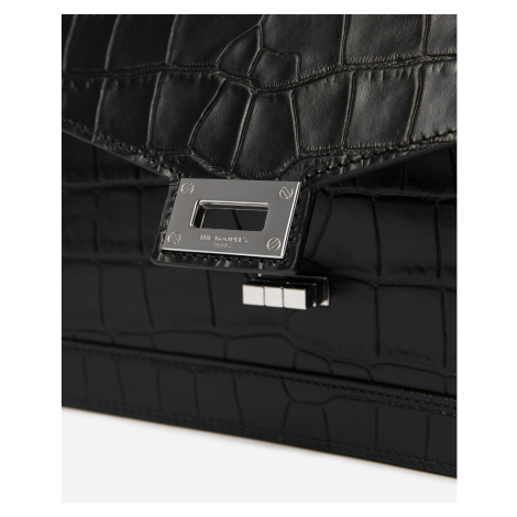 The Kooples - Medium print croco Emily bag in black - HERREN