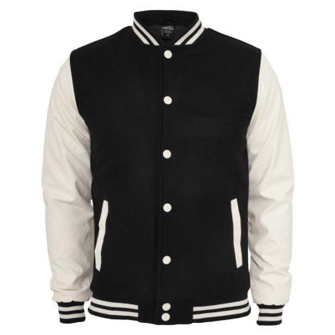 Urban Classics Herren Oldschool College Jacke - Slim Fit