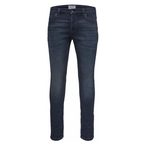 Only & Sons Herren Jeans Onsloom Dark Blue Sweat Pk 3631 - Slim Fit - Blau - Blue Denim