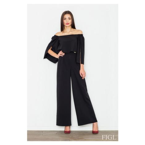 Damen Overalls M539 black Figl