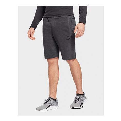 Reebok training essentials mélange shorts - Black - Herren, Black
