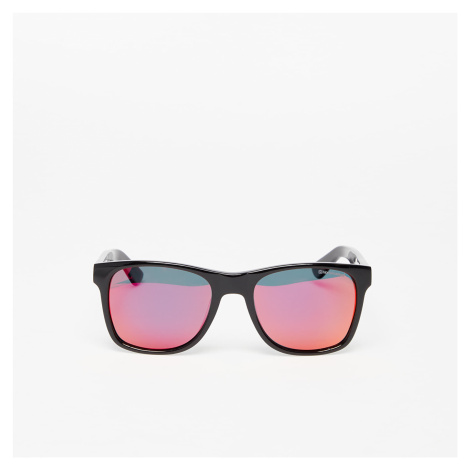 Horsefeathers Foster Sunglasses Gloss Black/ Mirror Red