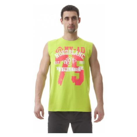 Herren baumwolle Tank Top/Shirt Nordblanc NBSMT5634_JSZ