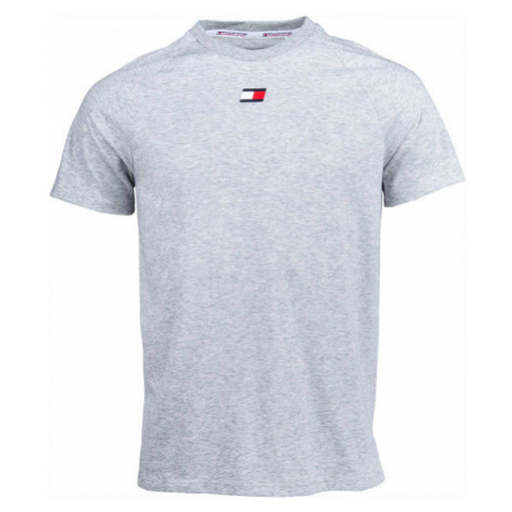 Tommy Hilfiger CHEST LOGO TOP grau - Herrenshirt