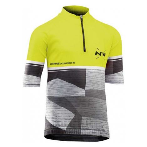 Northwave ORIGIN JR gelb - Kinder Radler Trikot North Wave