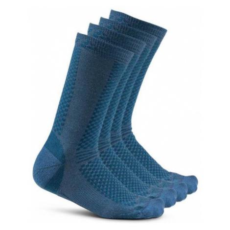 Socken CRAFT Warm 2-pack 1905544-677613 - dark  blue
