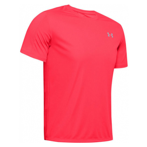 Under Armour SPEED STRIDE SHORTSLEEVE rot - Herren Shirt