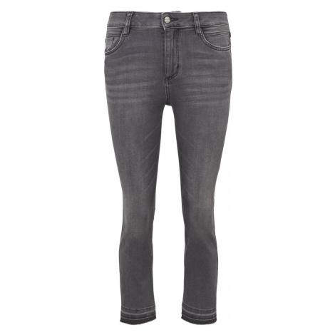 TOM TAILOR Damen Kate Kick Flare Jeans, grau