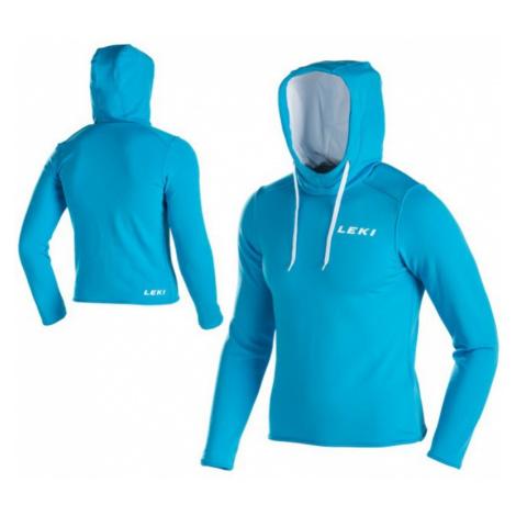 Sweatshirt Leki Hoodie Men 34402 blue