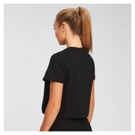 MP Damen Essentials Crop T-Shirt - Schwarz