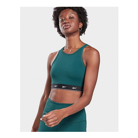 Reebok beyond the sweat crop top - Forest Green - Damen, Forest Green