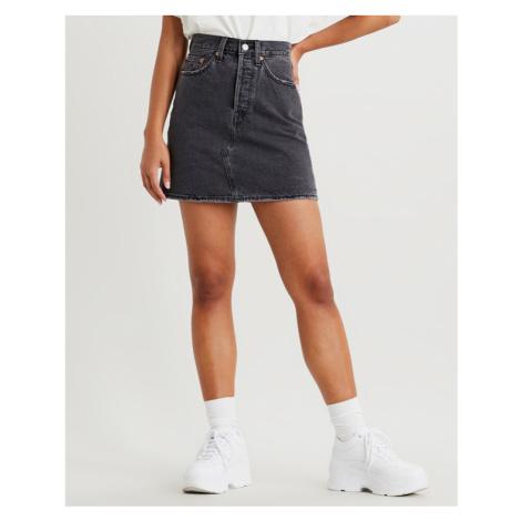 Levi's® High-waisted Deconstructed Skirt Schwarz Levi´s