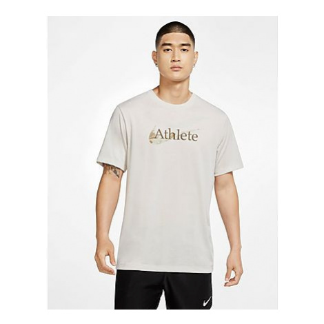 Nike Nike Dri-FIT Trainings-T-Shirt mit Swoosh für Herren - Light Bone - Herren, Light Bone