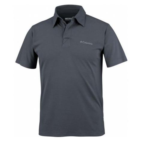 Columbia SUN RIDGE POLO grau - Herren Poloshirt