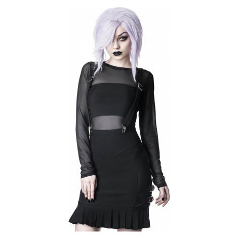 Damen Rock KILLSTAR - Synth Suspender - SCHWARZ - KSRA001636 XL
